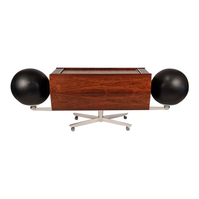 First Generation Clairtone Project G T4 Rosewood Stereo System For Sale