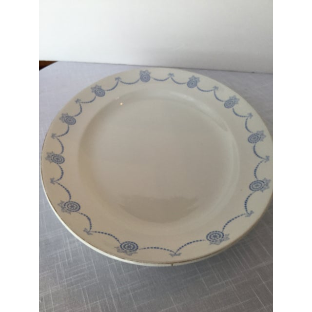 Blue & White Oval Imperial Porcelain Platter For Sale In Birmingham - Image 6 of 13