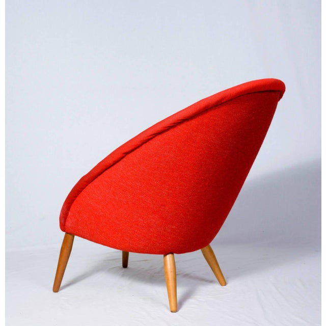 """1950s Nanna Ditzel """"Oda"""" Lounge Chair For Sale - Image 5 of 9"""