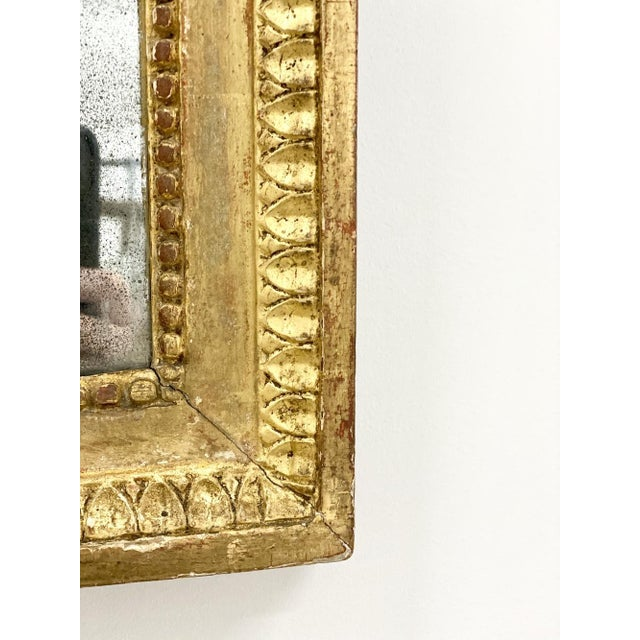 Late 18th Century 18th C. Ribbon Crest Mirror For Sale - Image 5 of 8
