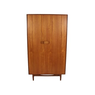 Danish Teak Armoire by Kofod Larsen for G Plan For Sale