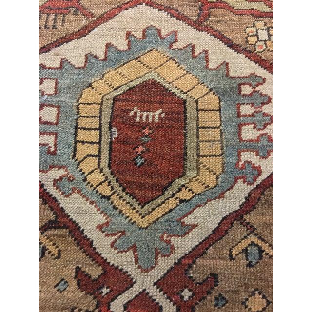 "Antique Bakshaish Persian Rug - 9'7"" X 12'9"" - Image 8 of 11"