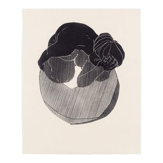 Christian Johnson Untitled, 2016 Linocut Print For Sale