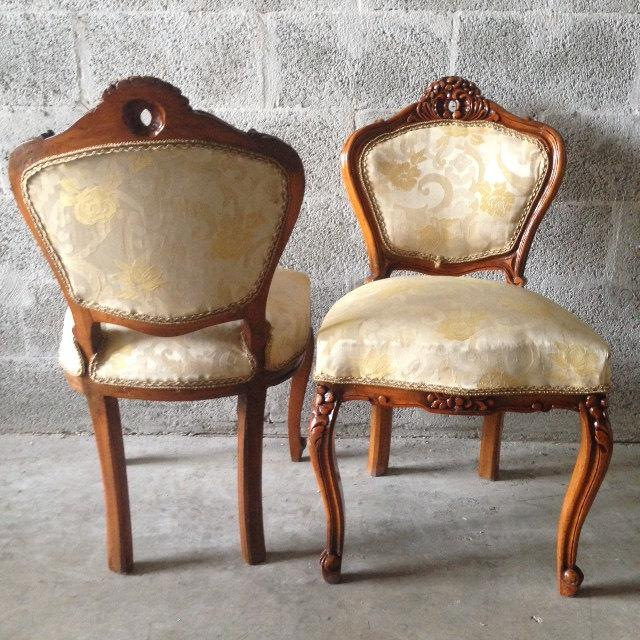 French French Louis XVI Style Chairs - a Pair For Sale - Image 3 of 8