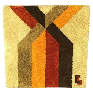 """1970s Fiber Wall Art """"Line Formation"""" by Gallery House For Sale"""