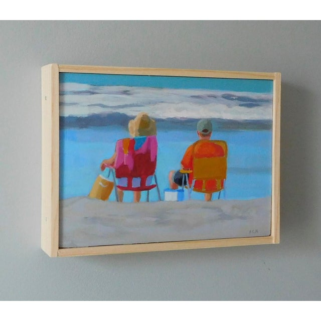 """Anne Carrozza Remick """"August"""" Painting - Image 3 of 5"""