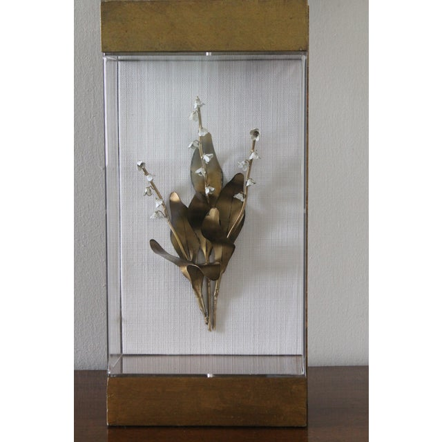 Farmhouse Lily of the Valley Lamp For Sale - Image 3 of 11
