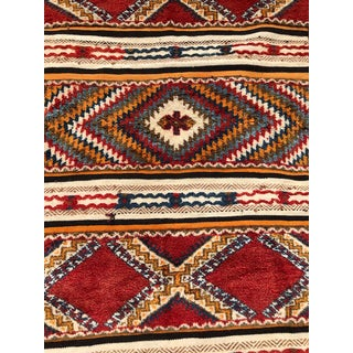 Berber Rug - Handwoven Wool With Abstract Diamond Patterns Preview