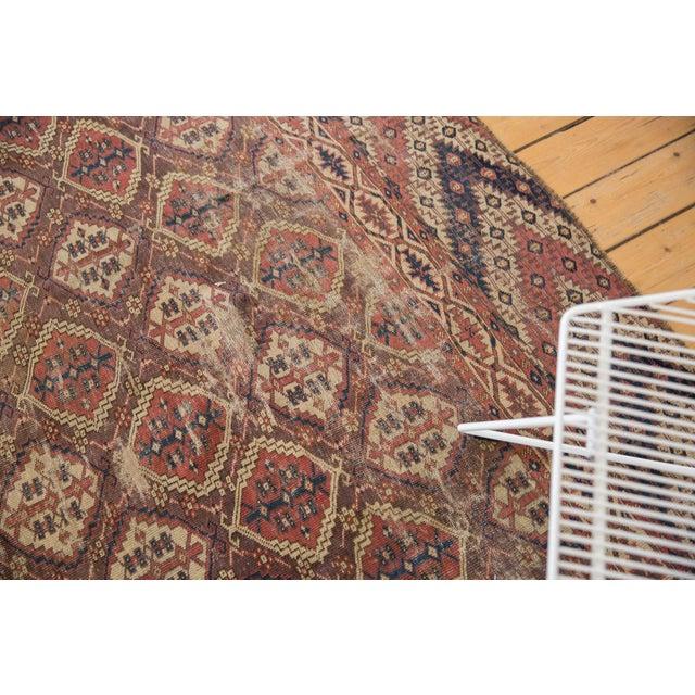 "Textile Antique Beshir Carpet - 8'9"" X 14' For Sale - Image 7 of 13"