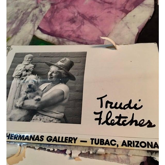Trudi Fletcher Batik Painting For Sale - Image 4 of 5