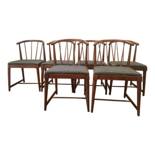 20th Century Danish Modern Spindle Back Chairs - Set of 6