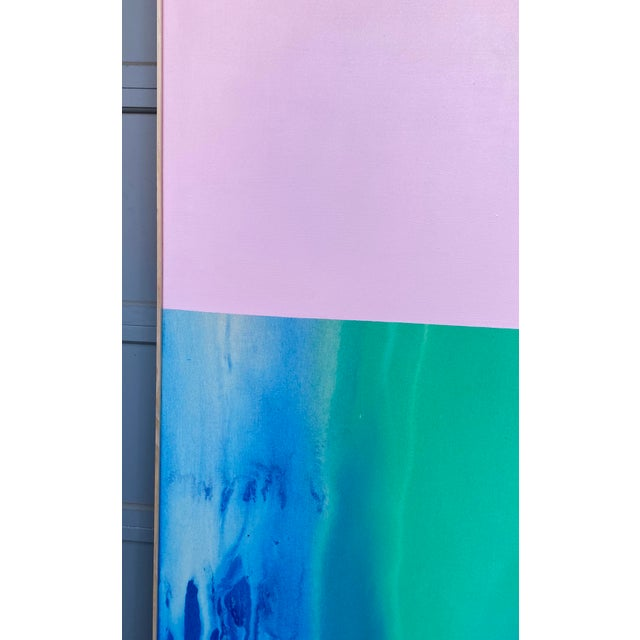 2010s Contemporary Abstract Color Field Large Scale Original Painting by Artist Jonathan Marquis For Sale - Image 5 of 10