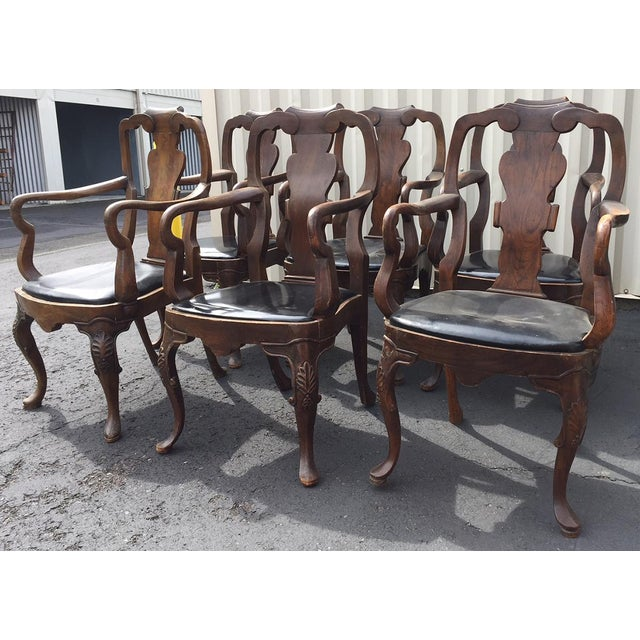 20th Century Chippendale Dining Yoke Chairs - a Pair For Sale - Image 10 of 13