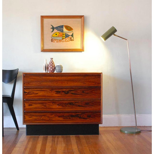 Mid-Century Modern Brazilian Rosewood Dresser - Image 3 of 8