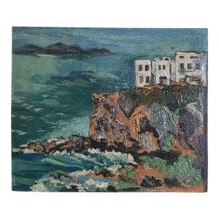 European Oil Seascape Painting For Sale