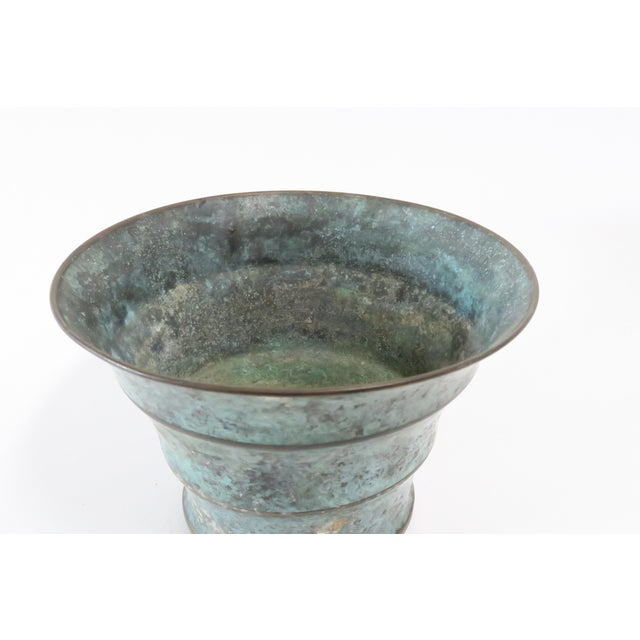 Vintage Italian Bronze Vase - Image 4 of 7