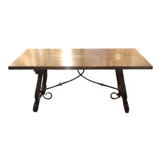 French Oak Spanish Table