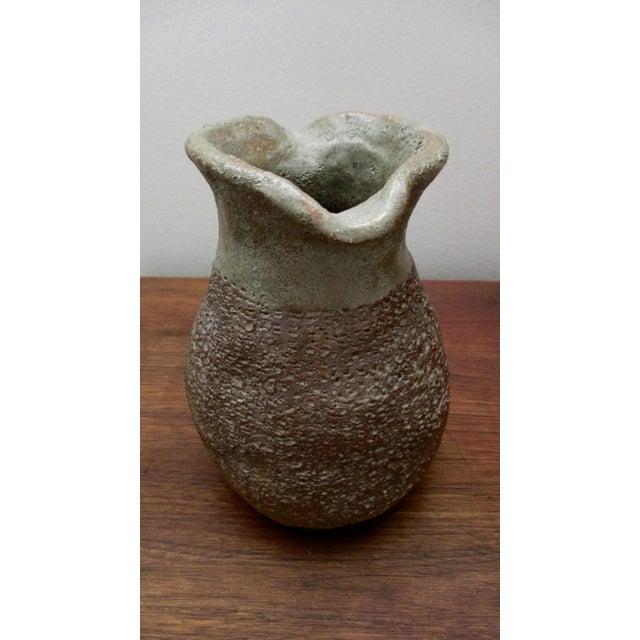 Glazed Ceramic Vase For Sale - Image 9 of 10