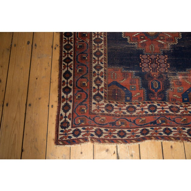 """Antique Fine Afshar Rug - 4'3"""" x 5'2"""" For Sale In New York - Image 6 of 13"""