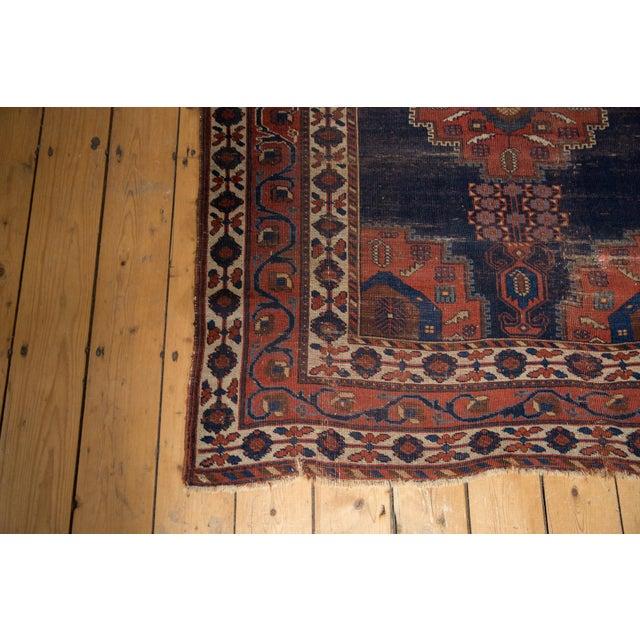 """Antique Fine Afshar Rug - 4'3"""" x 5'2"""" - Image 6 of 13"""