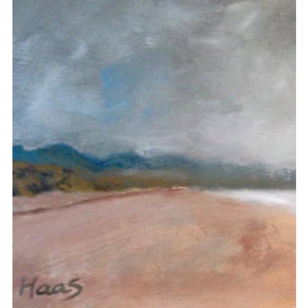 Rolling Fog Limantour Beach Point Reyes Seashore Painting For Sale - Image 4 of 7