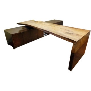 Mid-Century Modern Custom Designed Executive Desk For Sale
