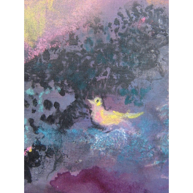 Pastel Over Monotype by Walter Kuhlman - Image 3 of 4