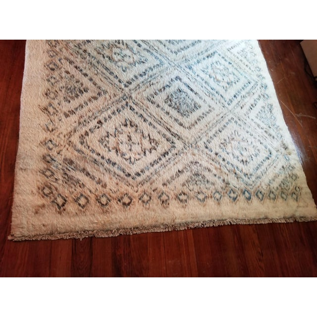 1990s Moroccan Area Rug - 6′ × 8′11″ For Sale - Image 5 of 7