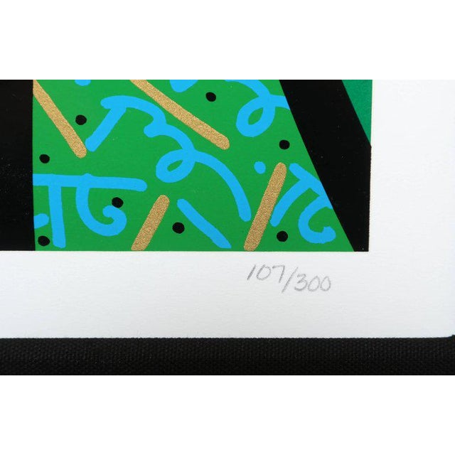 Behind the Bushes, Limited Edition Serigraph by Romero Britto For Sale In Miami - Image 6 of 7