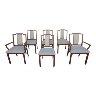 Chippendale-Style Dining Chairs - Set of 6 For Sale