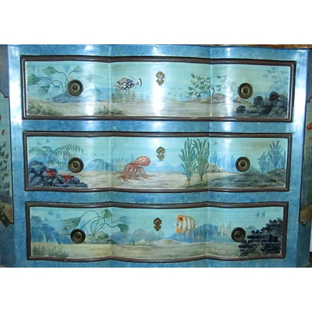 """""""Sea Life"""" Chest of Drawers - Image 3 of 6"""