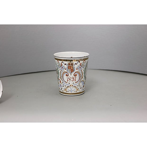 Late 19th Century 1897 Queen Victoria Enamel Beaker For Sale - Image 5 of 5
