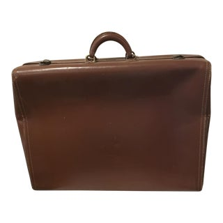 Mid-Century Hartman Brown Leather Luggage