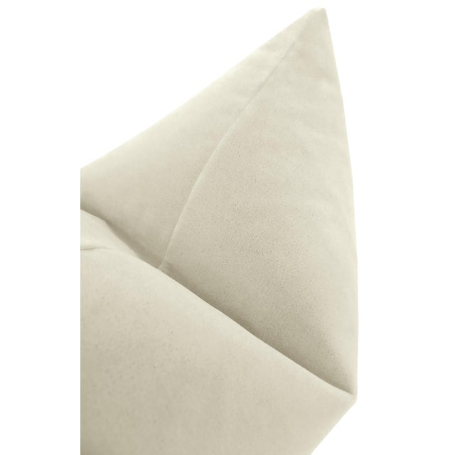 """22"""" Marble Mohair Pillows - a Pair For Sale - Image 4 of 5"""