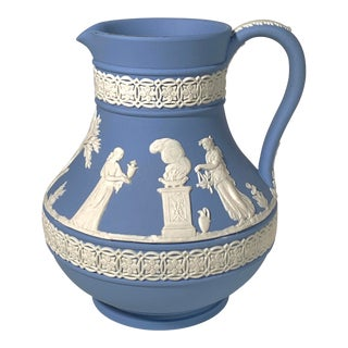Vintage Wedgwood Jasperware Pitcher For Sale