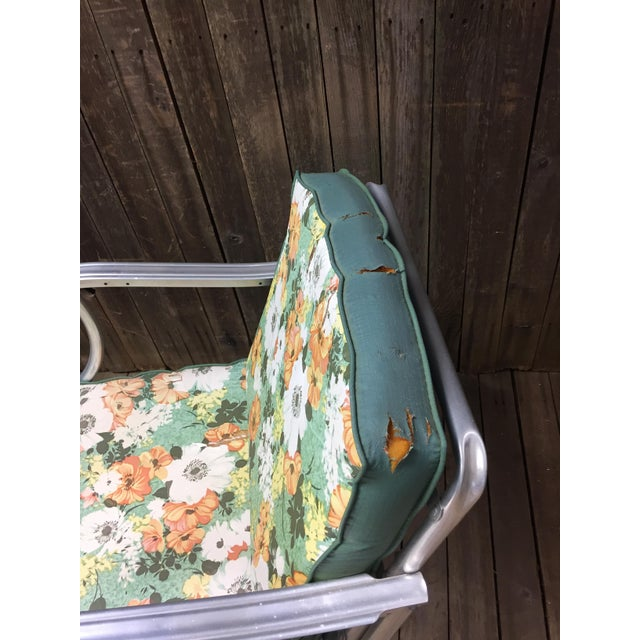 Mid Century Modern Bunting Aluminum Glider Patio Chairs - A Pair For Sale - Image 9 of 11