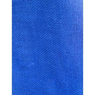 Royal Blue Burlap Fabric - 2.6 Yards For Sale