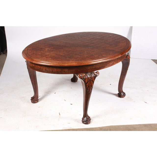 C.1880 English Dining Table - Image 8 of 10