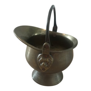 Brass Lion Head Bucket Basin For Sale