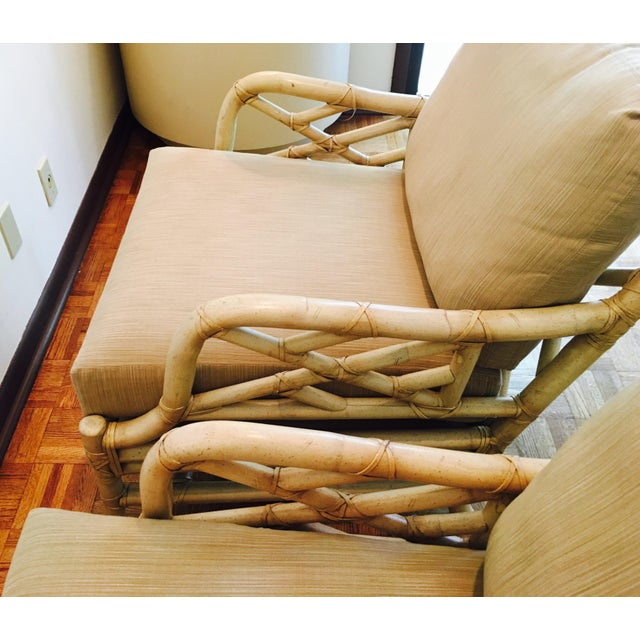 Ficks Reed Lounge Chairs - A Pair - Image 5 of 8