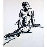 Image of Nude Female Reclining II For Sale