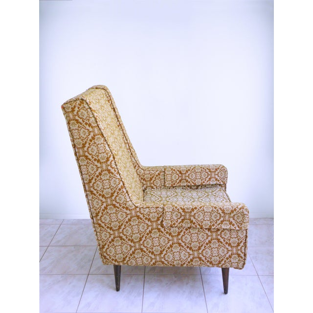 Mid-Century Modern Mid Century Modern Chair Edward Wormley for Dunbar Style High Back Lounge Chair For Sale - Image 3 of 7