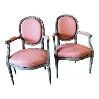 19th Century French Fauteuils - a Pair For Sale