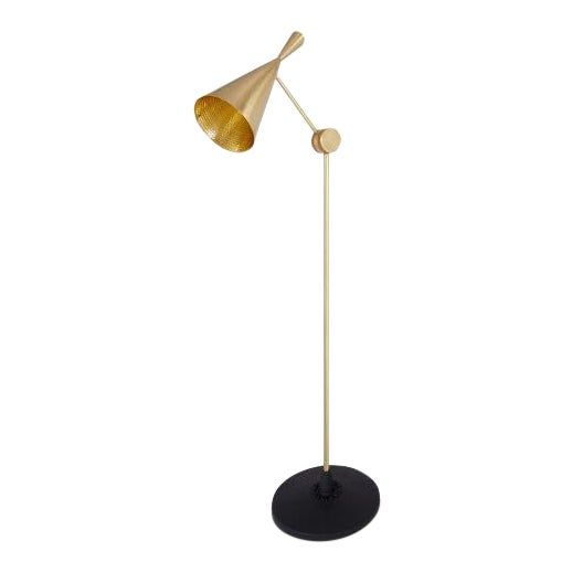 Tom Dixon Beat Floor Lamp Brass For Sale