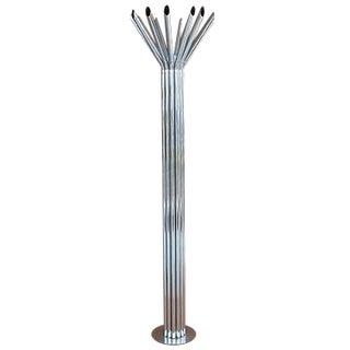Mid-Century Chrome Tubular Floor Lamp by Kovacs For Sale