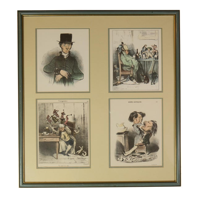 1900 Fernand Mourlot Colored Lithographs - Image 1 of 7