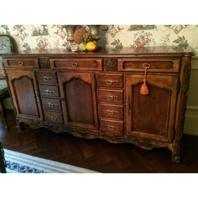 Mount Airy Furniture Co. French Provincial Sideboard Buffet For Sale - Image 11 of 11