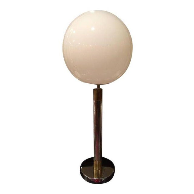 Large Robert Sonneman Style Lollipop Table Lamp For Sale - Image 11 of 12