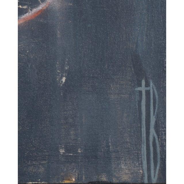 """Terri Burris """"Lax"""" Original Painting - Image 2 of 2"""