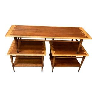 Lane Altavista Coffee Table Set - 3 Pieces For Sale